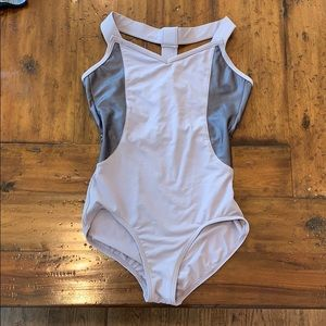 Capezio Lavender Leotard Athletic & Shiny Material
